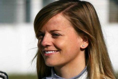 Susie Stoddart hat es geschafft: In der Lausitz holte sie ihre ersten DTM-Punkte