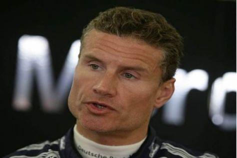 David Coulthards Aufwärtstrend wurde im Rennen recht jäh gestoppt