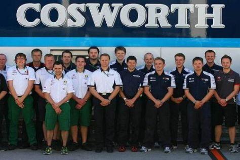 Die Cosworth-Mannschaft freut sich auf die Reise nach Montréal