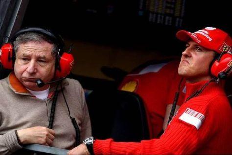 Jean Todt und Michael Schumacher waren gemeinsam bei Ferrari erfolgreich