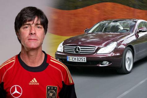WM 2010: Fußballer als Autos