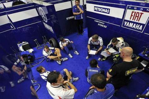 Wer soll Valentino Rossis Platz in der Yamaha-Box einnehmen?