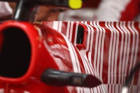 Die Wurzel allen Übels? Ferraris Version des F-Schacht-Konzeptes in der Formel 1