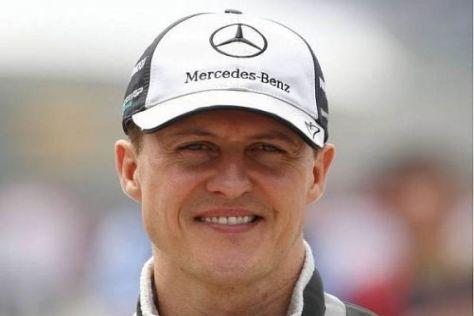 Michael Schumacher will gemeinsam mit Mercedes den Weg an die Spitze schaffen