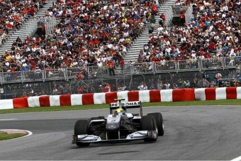 Nico Rosberg war in beiden Trainingseinheiten bei der Musik