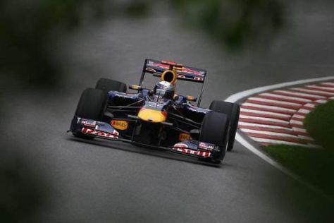 Sebastian Vettel fuhr am Nachmittag sogar zur Bestzeit