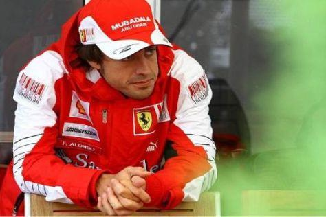 Fernando Alonso ist nach den Patzern von Istanbul etwas vorsichtiger geworden...