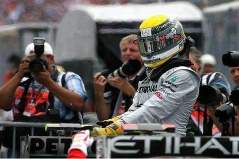 Sauer: Nico Rosberg hatte sich das Qualifying ganz anders vorgestellt