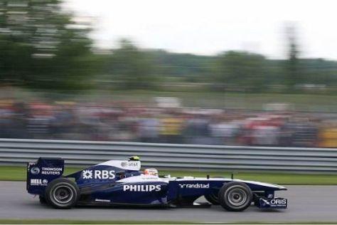 Nico Hülkenberg hätte Rubens Barrichello um ein Haar geknackt