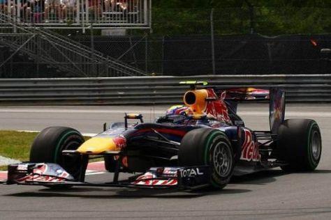 Mark Webber konnte sich erneut vor Sebastian Vettel qualifizieren