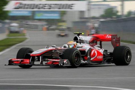 Lewis Hamilton fühlt sich in Montréal pudelwohl - das merkt man