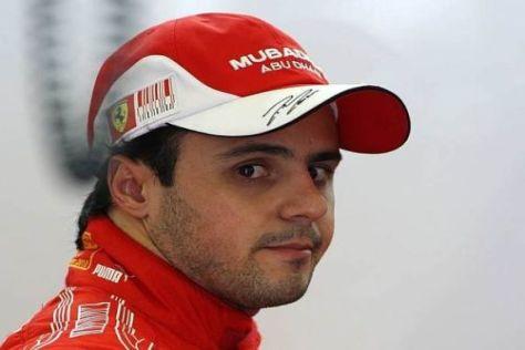 Die Zeitstrafe kann Felipe Massa gelassen verdauen