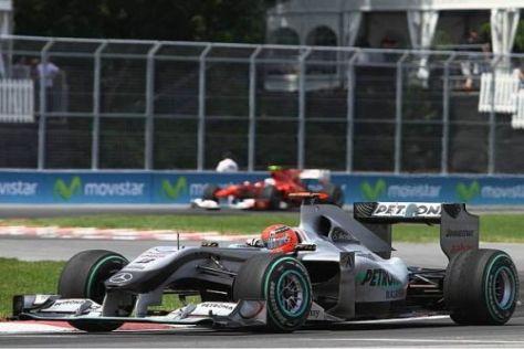 Michael Schumacher wurde von der Rennleitung nicht bestraft
