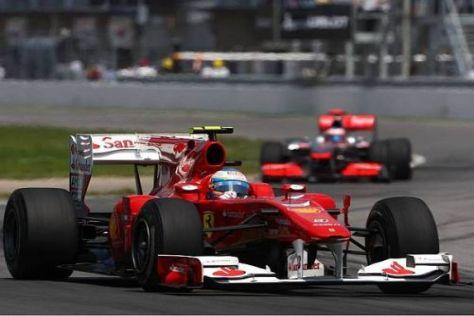 Fernando Alonso ist enttäuscht, denn er wollte sich den Sieg holen