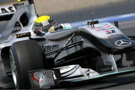 Nico Rosberg kämpfte sich wacker durch das Rennen auf Rang sechs