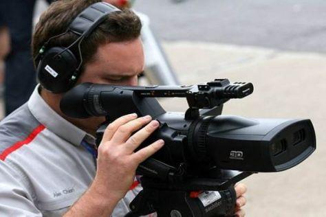 In Kanada wurden erstmals 3D-Kameras im Zuge eines Rennwochenendes getestet