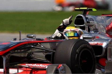 Lewis Hamilton profitierte von seinem 10.000 Dollar teuren Clou vom Samstag