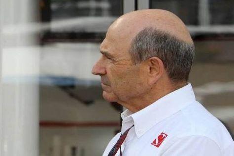 Blich nach vorn: Wird Peter Sauber sein Team schon bald wieder verkaufen?