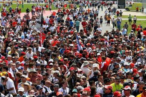 Montréal: Die Fans haben die Formel 1 schnell wieder in ihr Herz geschlossen