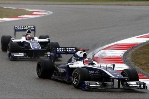Hülkenberg und Barrichello werden auch 2011 für Williams fahren