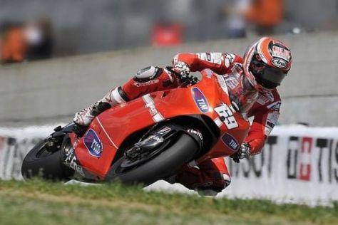 Nicky Hayden ist von den Qualitäten der Ducati Desmosedici GP10 überzeugt