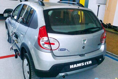 Studie Dacia Hamster Hybrid