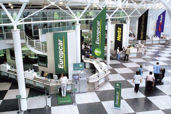 Autovermietung am Münchener Flughafen