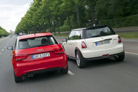 Audi A1 Mini Cooper