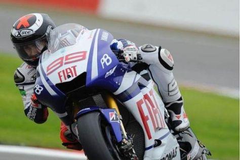 Jorge Lorenzo erwischte in Silverstone einen Auftakt nach Maß