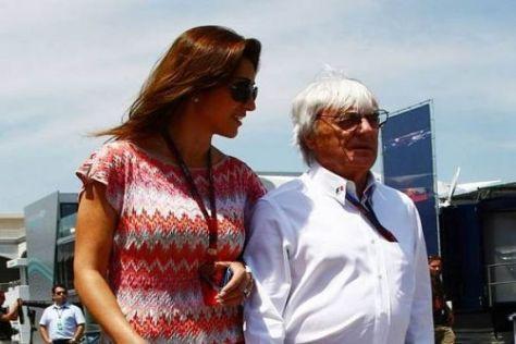 Slavica-Nachfolgerin: Auch Fabiana Flosi überragt den Formel-1-Boss deutlich