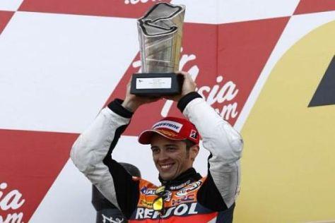 Andrea Dovizioso schiebt sich in der Meisterschaft auf den zweiten Platz