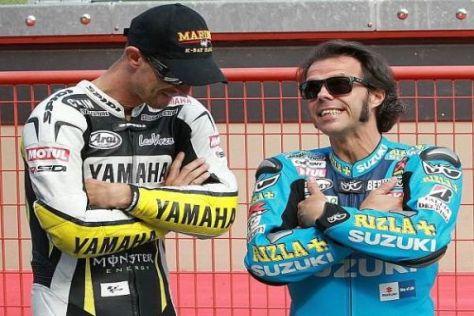 Ersetzt Loris Capirossi bald seinen Spezi Colin Edwards bei Tech-3-Yamaha?