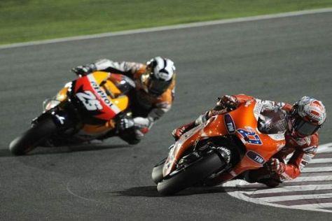 Sind Casey Stoner und Dani Pedrosa ab 2011 Teamkollegen bei Honda?