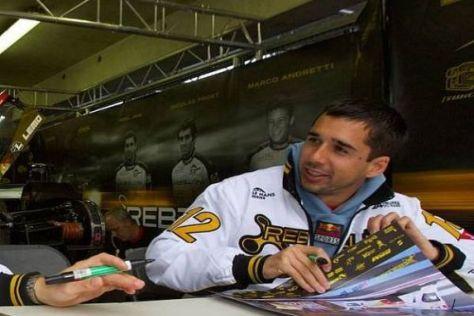 Über 250.000 Zuschauer: Neel Jani hat die Atmosphäre in Le Mans genossen