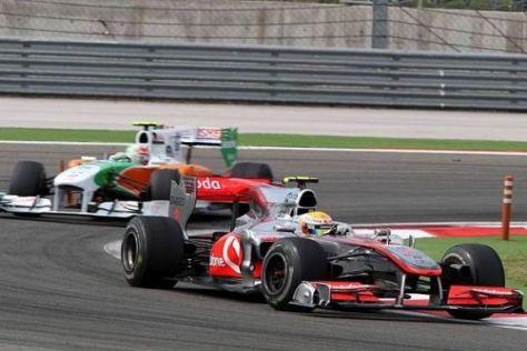 Den Traum im Visier: Force-India-Pilot Tonio Liuzzi zieht's zu McLaren