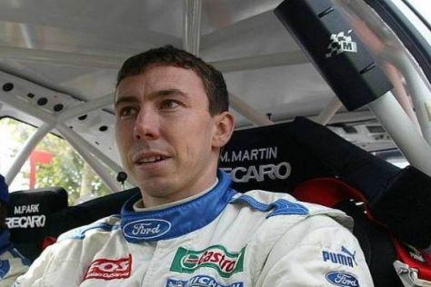 Markko Märtin wird sich in rund drei Wochen wieder in seinen Focus RS setzen
