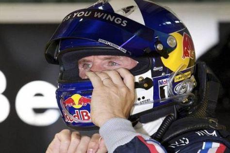 Vollgas beim Test: David Coulthard fand sich recht schnell in der DTM zurecht