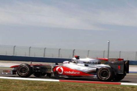 Das Heck des McLaren-Mercedes MP4-25 wird ab Silverstone anders aussehen