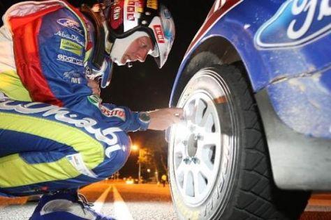 Ab 2011 muss nicht zwangsläufig Pirelli auf den WRC-Reifen stehen