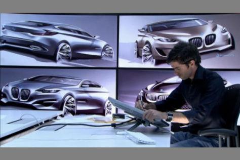 BMW Frontantrieb Designskizze