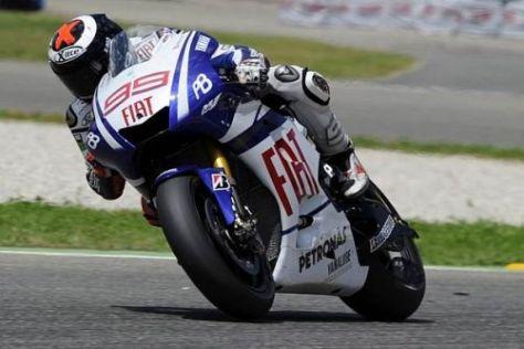 Yamaha-Solist Jorge Lorenzo stellte seine M1 in den Niederlanden auf Platz eins