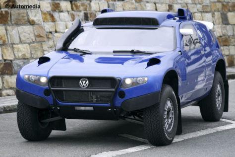 Erlkönig VW Race Touareg 2011