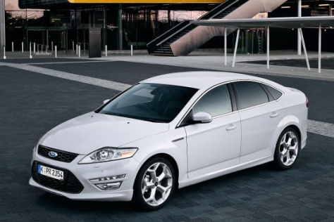 Ford Mondeo Facelift (2011)