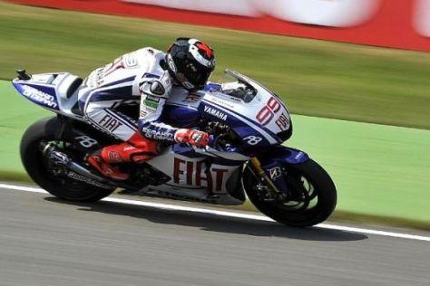 Jorge Lorenzo sicherte sich auch im zweiten Freien Training die MotoGP-Bestzeit