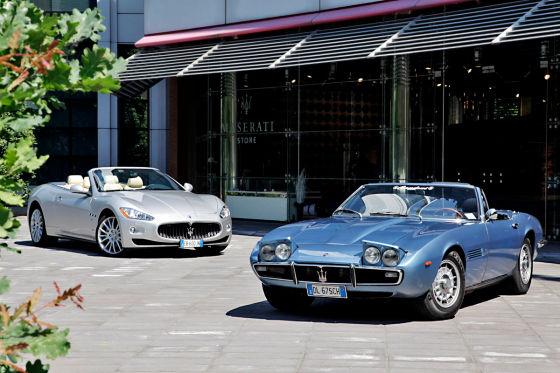 Maserati Ghibli Spyder & Gran Cabrio