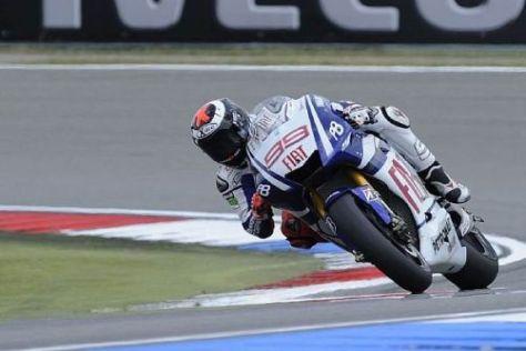 Yamaha-Fahrer Jorge Lorenzo sicherte sich in Assen die zweite Pole in Folge