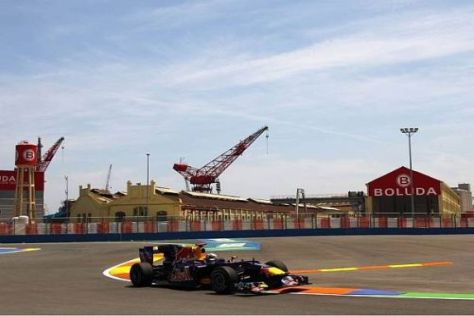 Sebastian Vettel macht bei seinem Arbeitsgerät Fortschritte aus