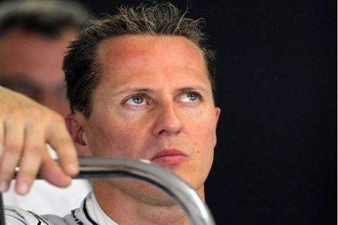 Michael Schumacher macht seinen Fans auch für Sonntag wenig Hoffnung