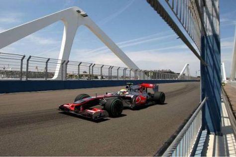 Lewis Hamilton ist sehr zufrieden mit dem dritten Startplatz