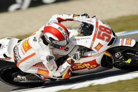 Marco Simoncelli hatte sich mehr als den neunten Platz im Rennen erhofft
